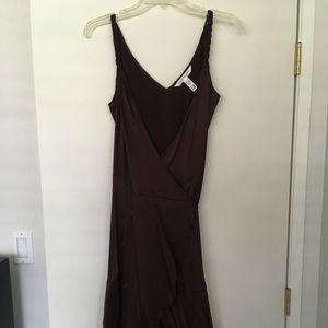 Diana VonFurstenberg silk wrap dress.